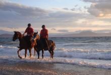 Horse riding in Pelion