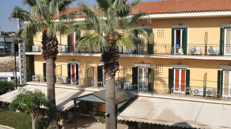 Atropa Travel, Hotel Bretagne, Corfu