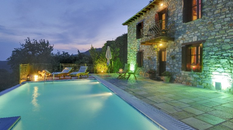 Atropa Travel, Villa Ortansia in Milies, Pelion