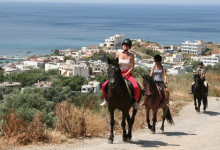 Horseback riding in Plakias